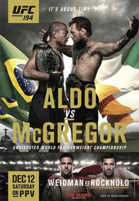 Mark Broussard Prediction – UFC 194: Aldo vs McGregor