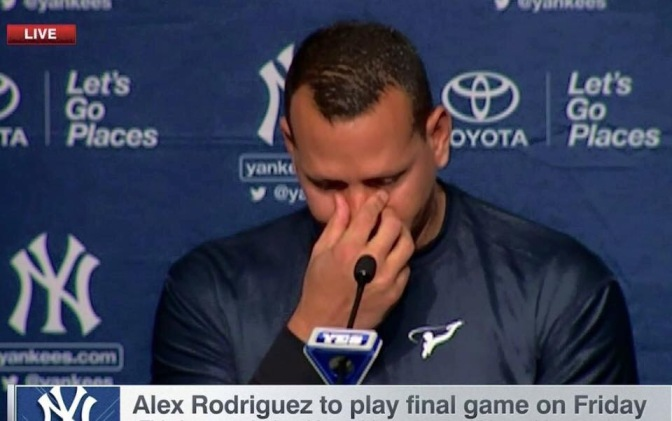 Breaking News: Alex Rodriguez to play final game Friday