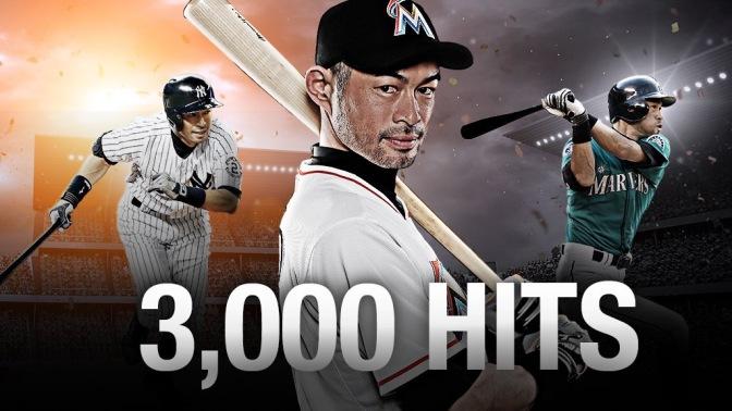 MLB – Breaking News – Ichiro joins the 3,000 hit club
