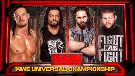wwe universal  championship Fatal 4