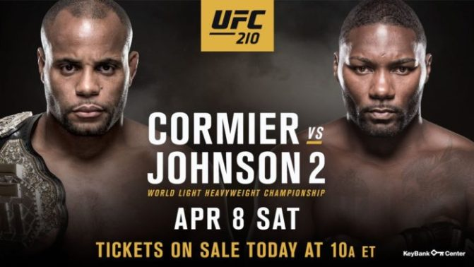 (MMA) UFC 210: Cormier vs Johnson 2