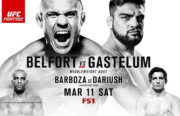 (MMA) Fight Night Fortaleza: Belfort vs Gastelum
