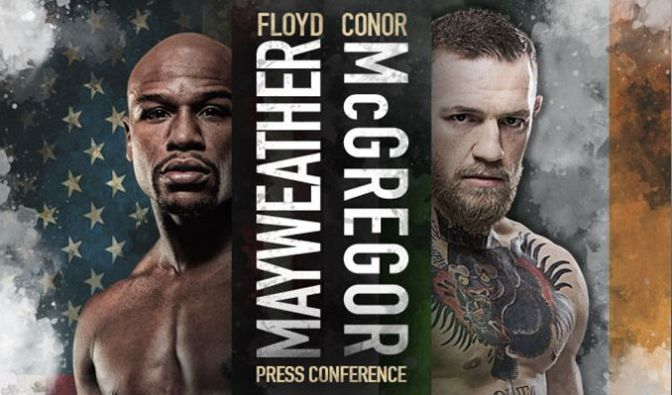 (Boxing) Mayweather vs McGregor Press Conferences
