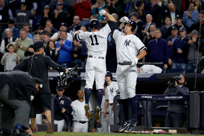 (Baseball) AL Wild Card Game — NYY Advances To ALDS